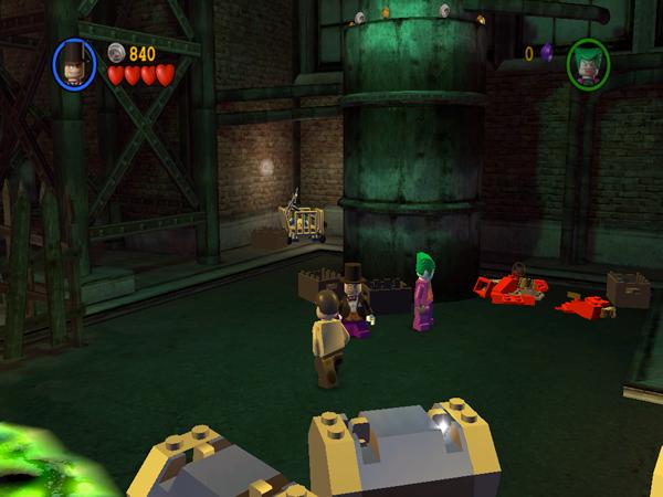 lego batman games. LEGO Batman takes a