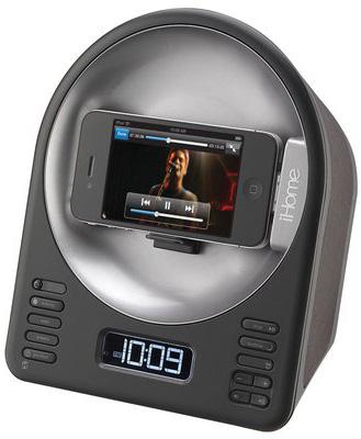 iHome iA63 App-Enhanced Alarm Clock FM Radio Stereo Speaker
