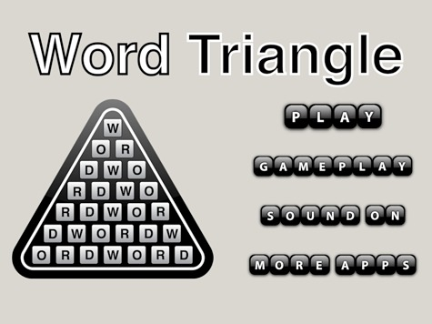 Word Triangle App Review Mymac