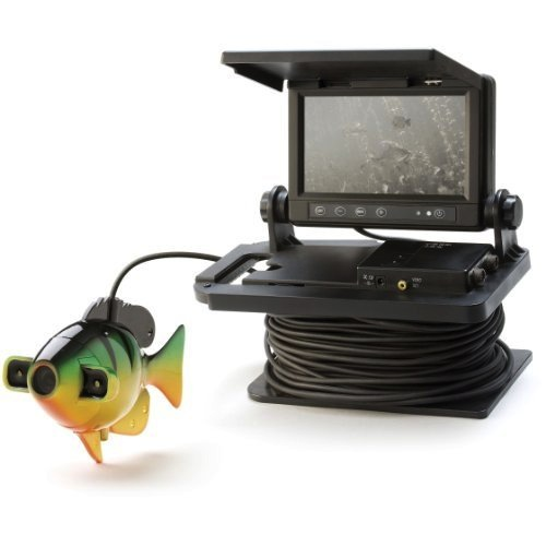 Fishing is much easier when you can see the fish for Underwater ice fishing camera
