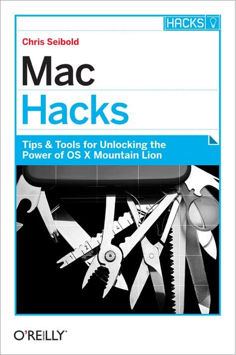 Cover of Mac Hacks book
