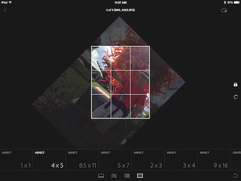aspect ratios