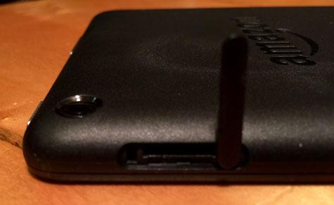 MicroSD Card Slot open