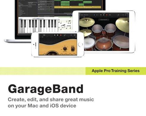 Book Review: Apple Pro Training Series: GarageBand - MyMac com
