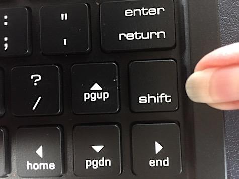right shift key - MyMac com