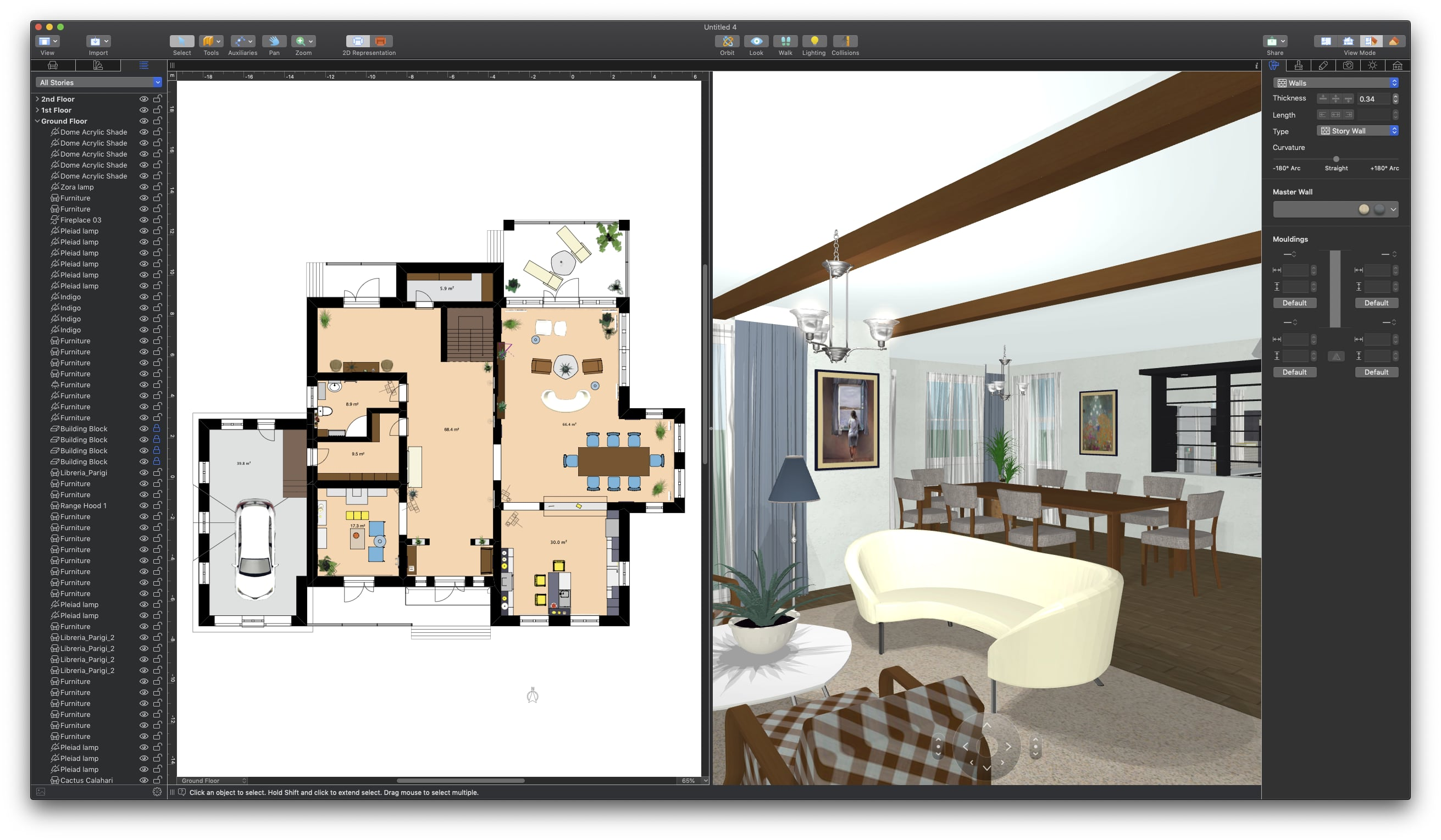 Live home 3d is software that lets you create a home an apartment or an office environment with furniture and textures once you are satisfied with your